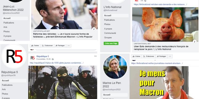 Derrière depseudo-sites politiques français, unvaste réseau venu d'Ukraine