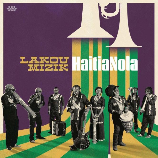 Pochette de l'album « HaitiaNola », de Lakou Mizik.