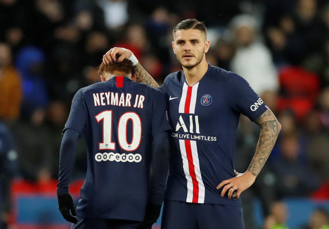 Face à Lille, Mauro Icardi a inscrit son dixième but en onze rencontres, vendredi 22novembre, au Parc des Princes.