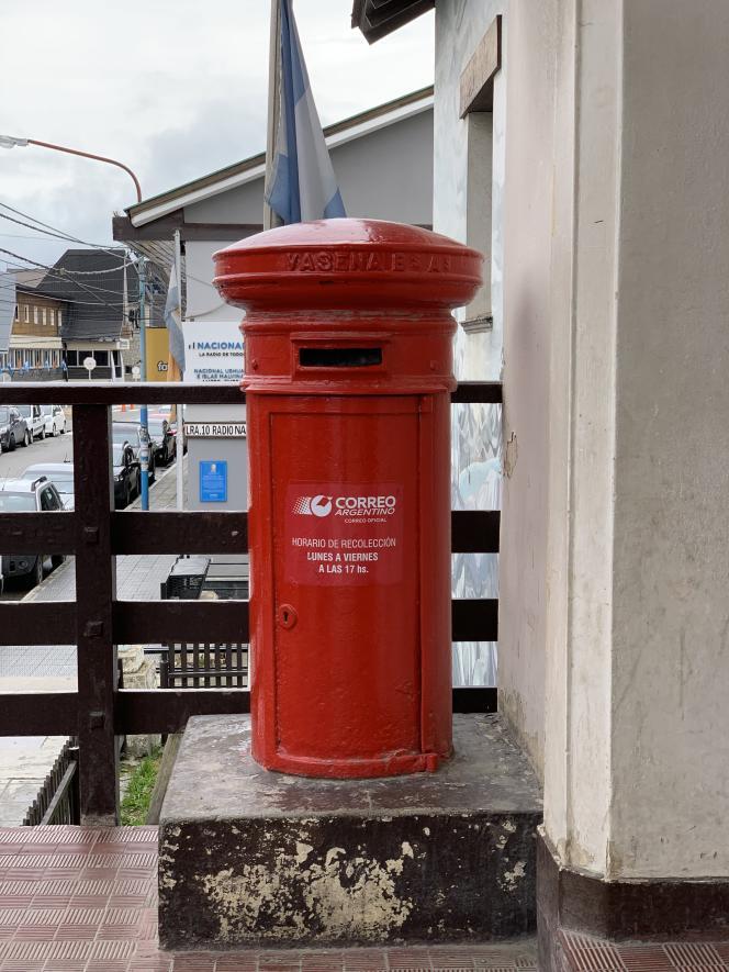 Boîte aux lettres, Ushuaïa.