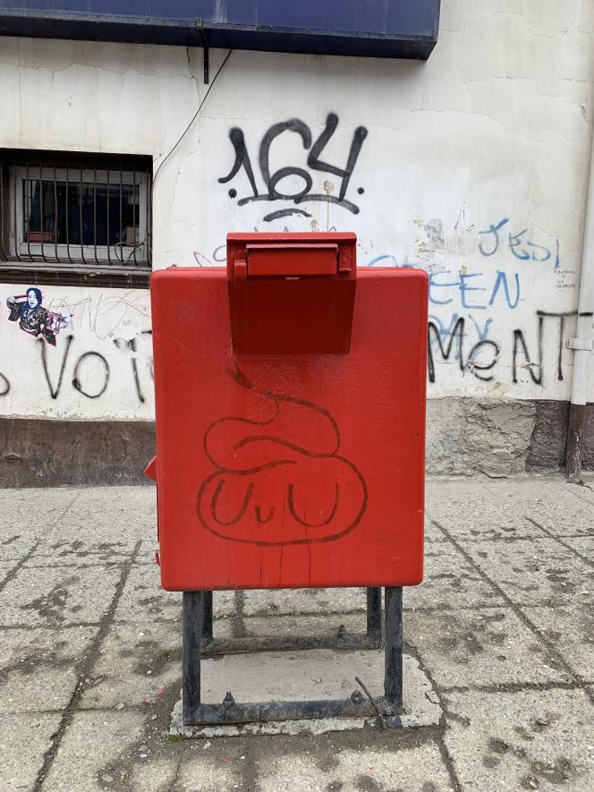 Boîte aux lettres, Ushuaïa (Argentine).