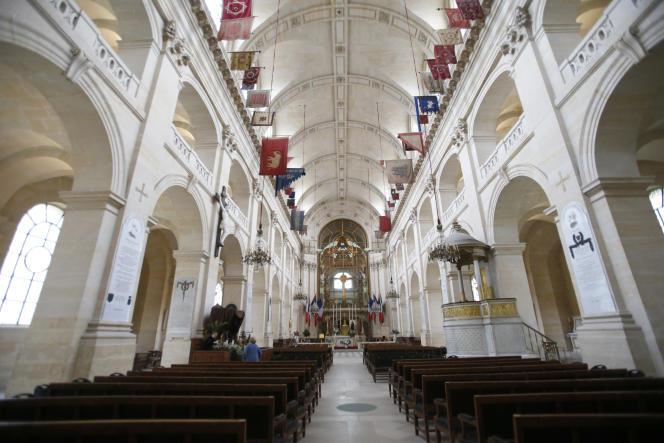 Dans la cathédrale Saint-Louis des Invalides, en 2014.