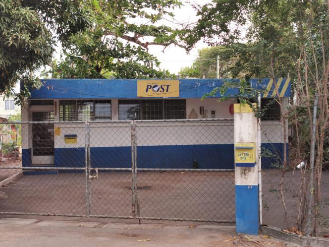 Bureau de poste à l'île Maurice.