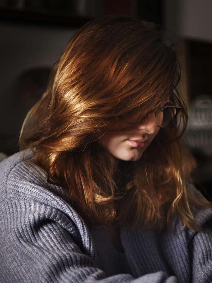 «Je me suis retrouvée toute seule, pour tout.» Fanny, dans l'appartement qu'elle occupe ponctuellement avec ses colocataires à Montpellier.