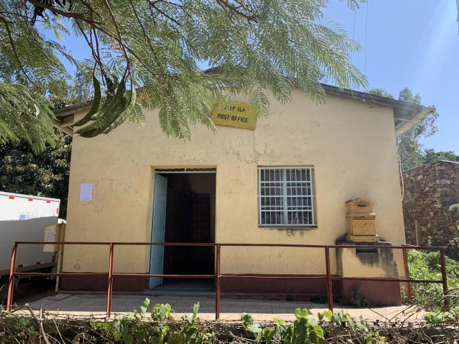 Bureau de poste d'Axoum, Ethiopie.