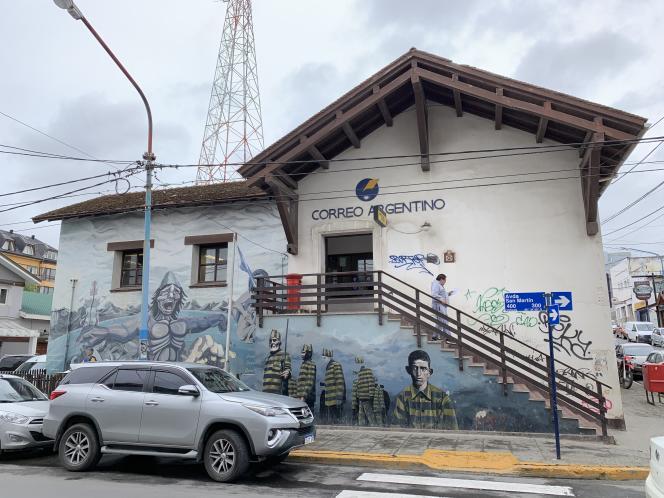 Bureau de poste d'Ushuaïa.