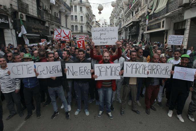 Manifestion en Algérie