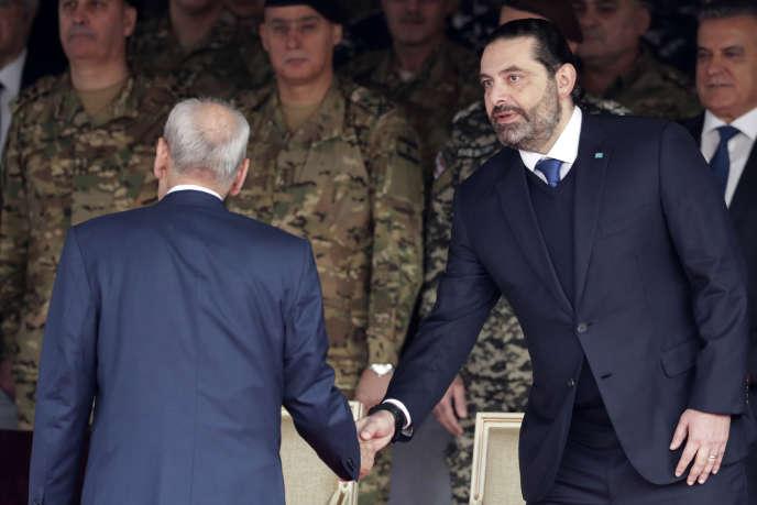 Saad Hariri, le 22 novembre près de Beyrouth, au Liban.