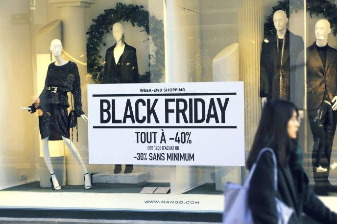 «La période liée au Black Friday : 2,5 millions de livraisons attendues par jour, soit dix fois plus que le nombre de colis livrés quotidiennement le reste de l'année à Paris. »