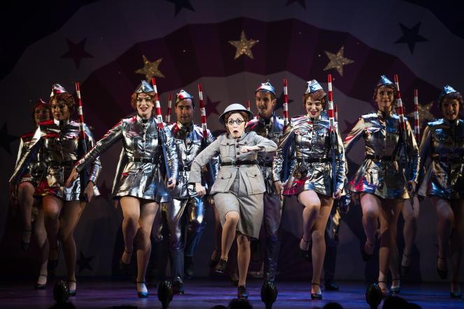 La comédie musicale «Funny Girl» au Théâtre Marigny, à Paris.