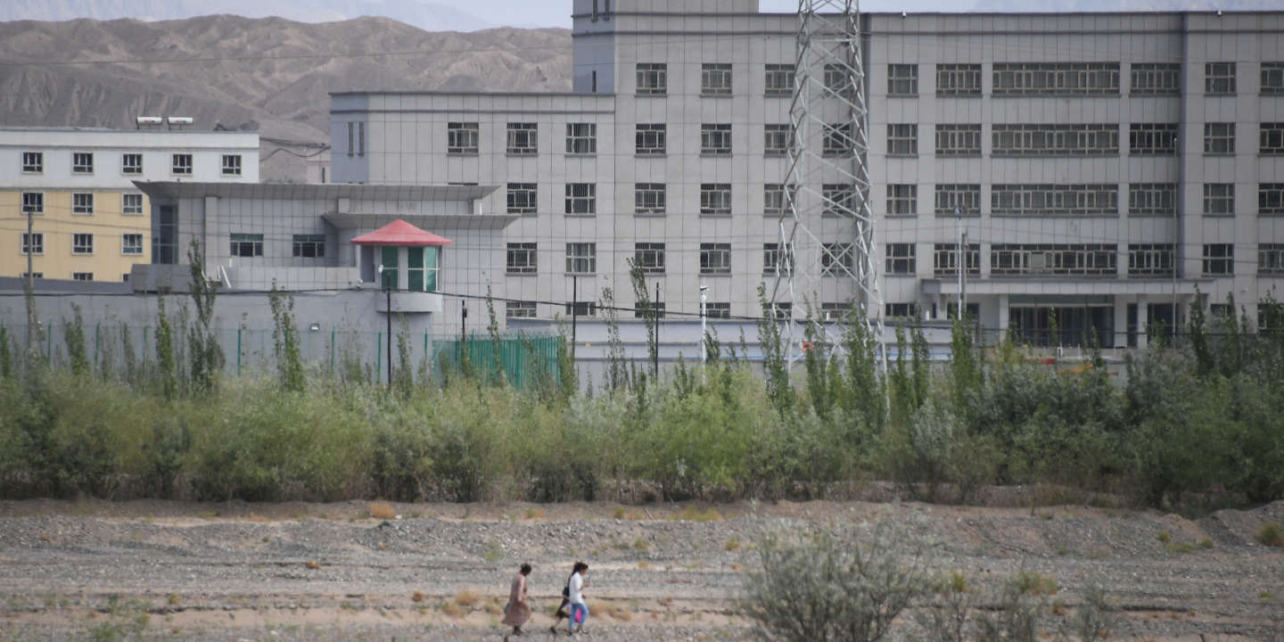 This photo taken on June 2, 2019 shows a facility believed to be a re-education camp where mostly Muslim ethnic minorities are detained, in Artux, north of Kashgar in China's western Xinjiang region. - While Muslims around the world celebrated the end of Ramadan with early morning prayers and festivities this week, the recent destruction of dozens of mosques in Xinjiang highlights the increasing pressure Uighurs and other ethnic minorities face in the heavily-policed region. (Photo by GREG BAKER / AFP) / To go with AFP story China-politics-rights-religion-Xinjiang, FOCUS by Eva Xiao and Pak Yiu