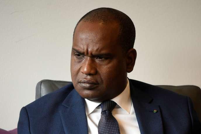 Le ministre burkinabé des affaires étrangères, Alpha Barry, à Bruxelles, le 18juin 2018.
