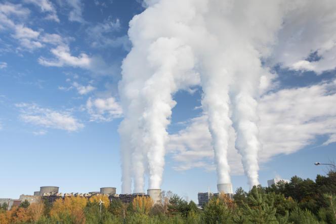 La centrale de Boxberg, dans la Saxe, en Allemagne, le 10 novembre.