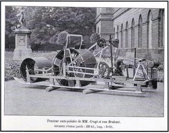 Projet de « tracteur auto-polaire de MM. Cruyt et van Brabant ».