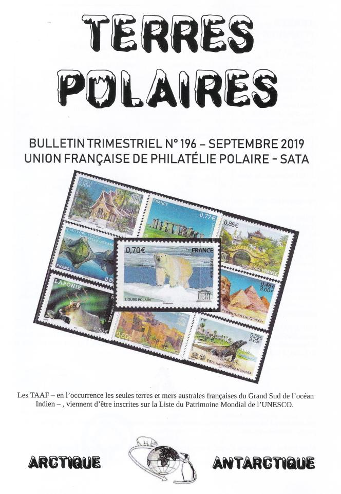 « Terres polaires », édité par l'UFPP-SATA.