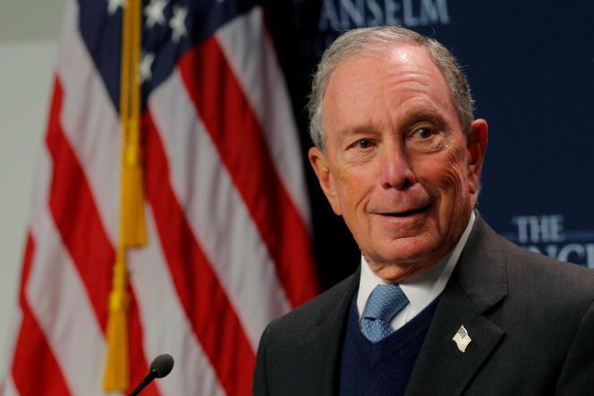 L'ex-maire de New York Michael Bloomberg, en janvier 2019.