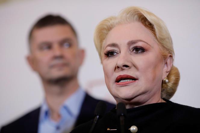 Viorica Dancila a subi un sévère revers à la présidentielle en Roumanie.