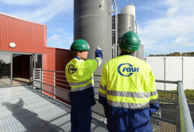 Saur compte près de 12 000 salariés, pour un chiffre d'affaires de1,5 milliard d'euros.