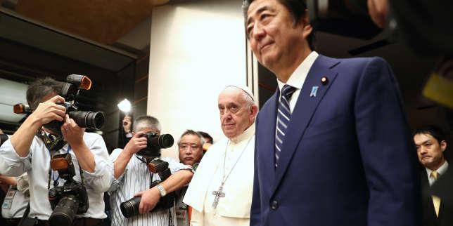 Au Japon, le pape François prône le désarmement nucléaire
