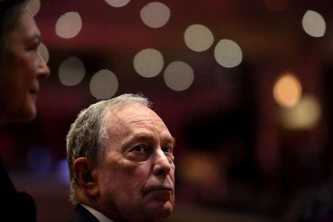 Michael Bloomberg, à New York, le 17 novembre .