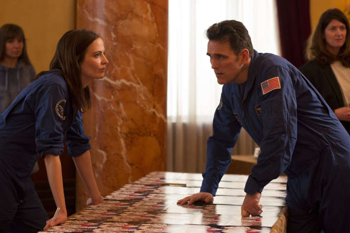 Eva Green et Matt Dillon, dans« Proxima» d'Alice Winocour.