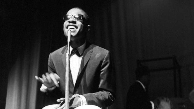 Stevie Wonder en concert, en 1960.