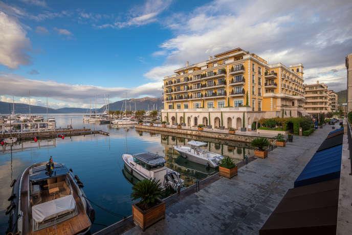 L'hôtelRegent de Porto Montenegro.