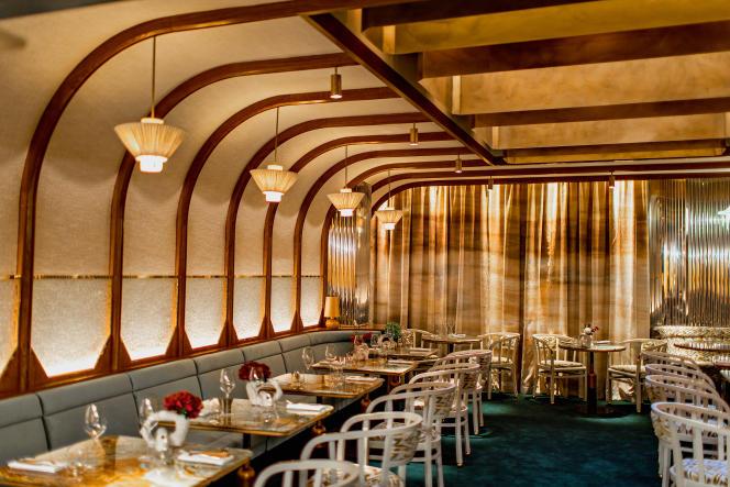La Scène, premier restaurant de Stéphanie Le Quellec, qu'elle a voulu«intime sans être intimidant».