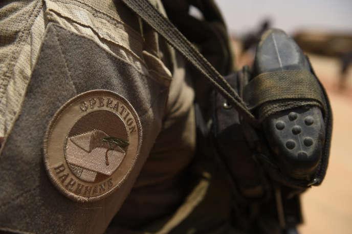 Un soldat de l'opération «Barkhane» àGao, dans le nord du Mali, en 2017.