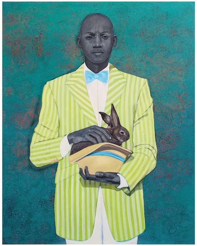 «The Rabbit in the Hat», de l'artiste Amy Sherald, a rejoint les collections du Musée d'art de Baltimore.