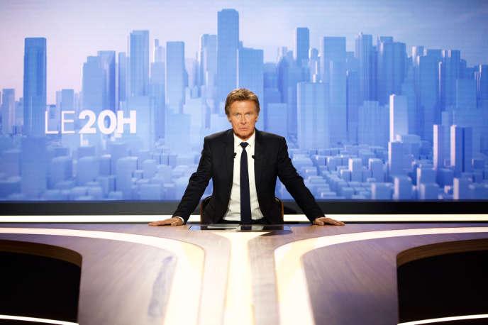 Franck Dubosc incarne le présentateur vedette du journal de 20 heures.