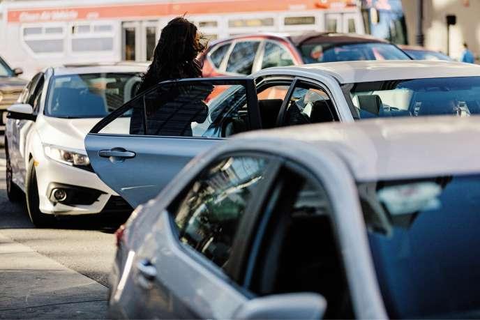 Des centaines de femmes ont déclaré sur les réseaux sociaux avoir étévictimes de comportements déplacés de la part de chauffeurs Uber.
