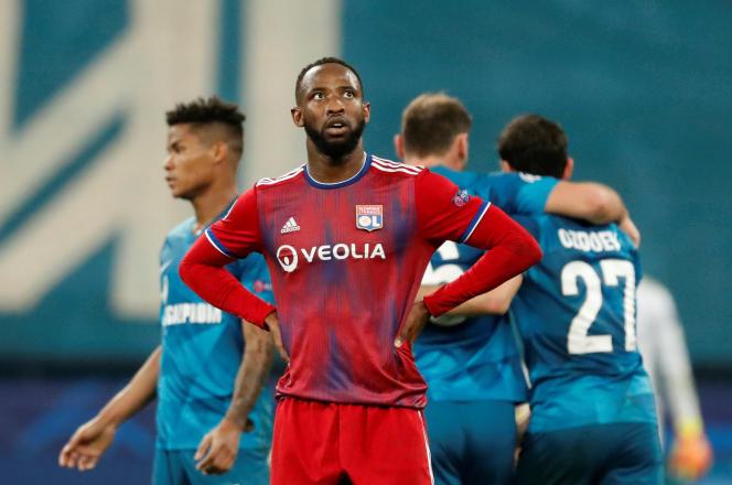 Le 27 novembre, Moussa Dembélé n'a toujours pas marqué en Ligue des champions, ici sur la pelouse du Zénith Saint-Pétersbourg.