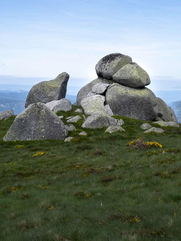 Au sommet du mont Lozère.