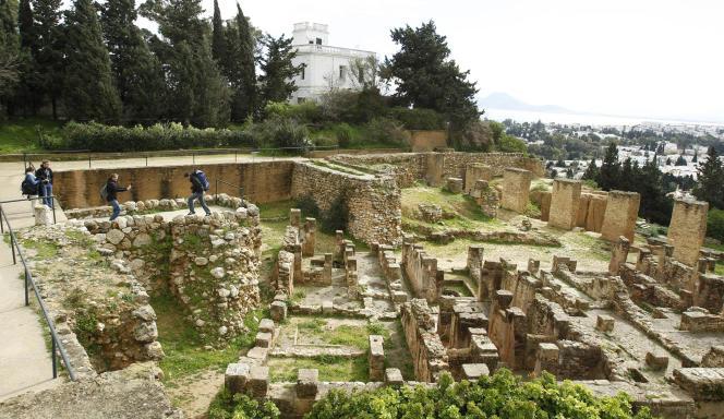 Le site archéologique de Carthage, près de Tunis, en février 2013.