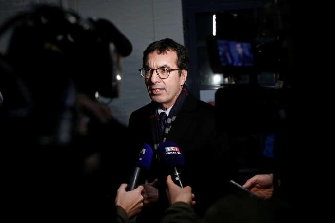 Le PDG de la SNCF, Jean-Pierre Farandou, à Asnières-sur-Seine, le 27 novembre.