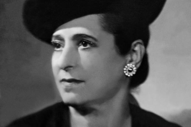 Portrait non daté d'Helena Rubinstein.