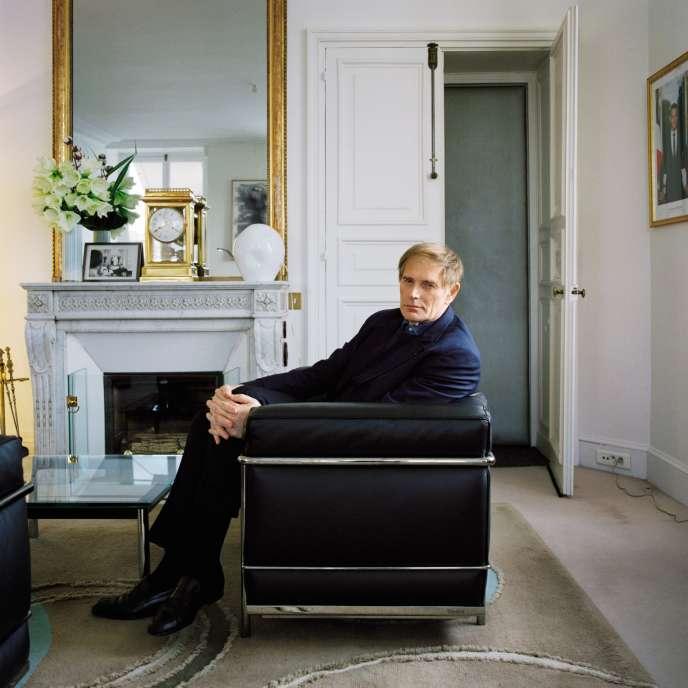 Philippe Grangeon, dans son bureau du palais de l'Elysée à Paris, le 19novembre.