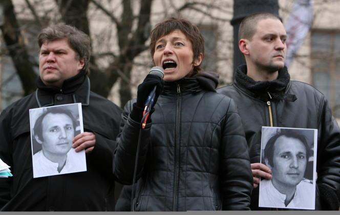 Carine Clément (ici, le 30 novembre 2008 à Moscou) a cessé toute activité militante depuis dix ans.