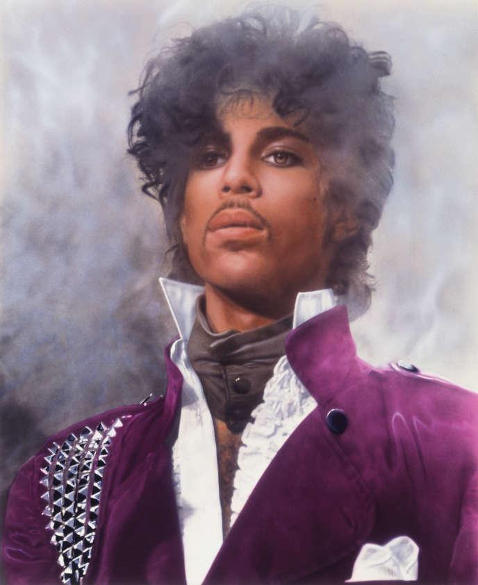 Prince à Minneapolis (Minnesota), à l'automne 1982.