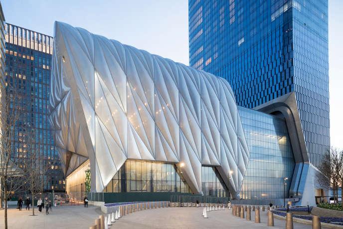 The Shed (« le hangar»),centre culturel situé dans les Hudson Yards, à Manhattan.