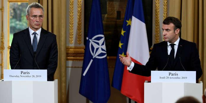Macron se félicite d'avoir « réveillé » l'OTAN avec ses propos controversés