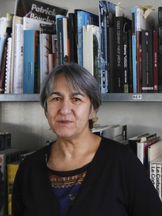 Anne Lacaton à Paris, en décembre 2015.