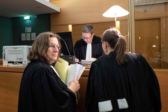 Au début du procès, le 6 novembre, au tribunal correctionnel de Lyon.