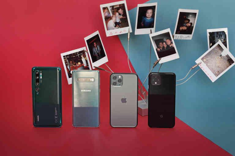 meilleur smartphone photo Apple iPhone 11 Google Pixel 4 samsung S10 Xiaomi Mi Note 10