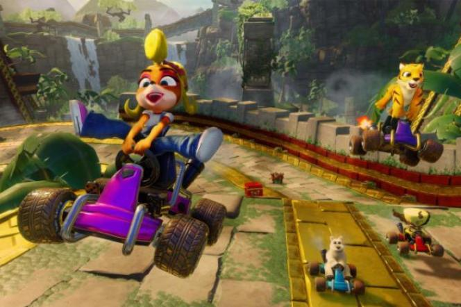 « Crash Team Racing : Nitro-Fueled ».