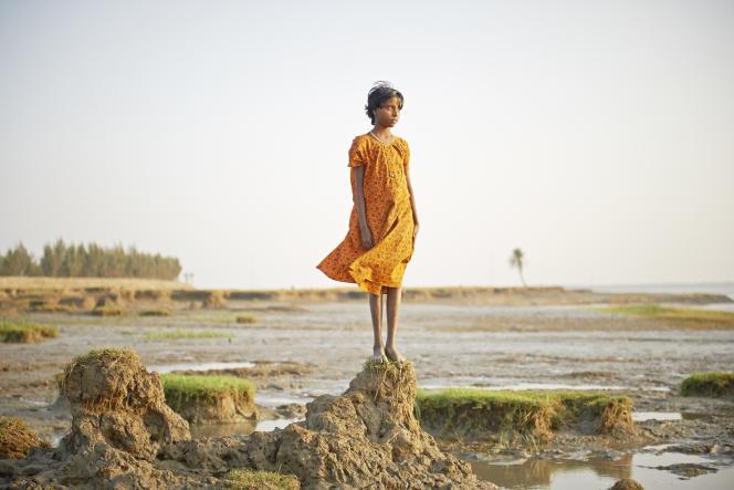 La moitié du territoire de l'île de Ghoramara, en Inde, a disparu sous les eaux depuis les années 1980.