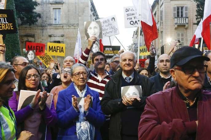 Manifestation à La Valette, le 1er décembre.