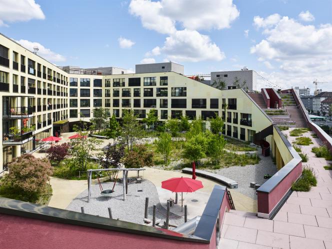 Projet Kalkbreite, coopérative d'habitat à Zurich (Suisse).
