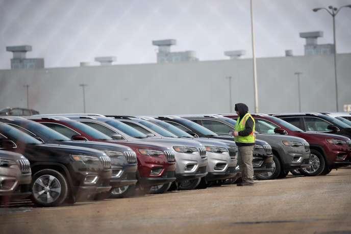 Une usine d'assemblage Fiat Chrysler à Belvidere, dans l'Illinois, le 27 février.
